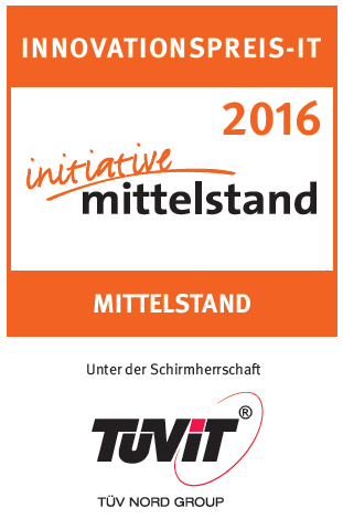 Innovationspreis 2016 - Initiative Mittelstand - SteuerGo
